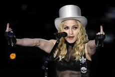 "<p>Una tappa del tour di Madonna ""Sticky and Sweet"". REUTERS/Paulo Whitaker</p>"