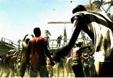 """<p>An image from Capcom's """"Resident Evil 5."""" Set in Africa, this latest shooter introduces two-player cooperative gameplay to the mix and ups the ante with an assortment of undead enemies. REUTERS/Handout</p>"""