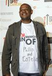<p>Actor Forest Whitaker arrives at the Stand Up To Cancer broadcast event in Hollywood September 5, 2008. REUTERS/Fred Prouser</p>