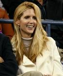 <p>Conservative commentator Ann Coulter watches play at the U.S. Open tennis tournament in New York September 4, 2006. REUTERS/Jeff Zelevansky</p>