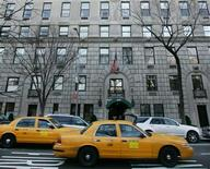 <p>A 5th Avenue apartment building in New York City, in a file photo. REUTERS/Mike Segar</p>