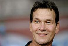 """<p>Actor Patrick Swayze attends the fan screening of """"Mission: Impossible III"""" at the Grauman's Chinese theatre in Hollywood May 4, 2006. REUTERS/Mario Anzuoni</p>"""