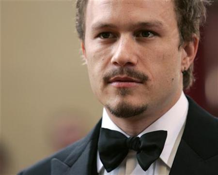 Heath Ledger at the 78th annual Academy Awards at the Kodak Theatre in Hollywood, March 5, 2006. REUTERS/Lucy Nicholson