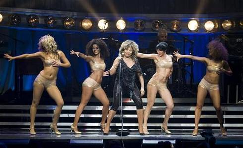 Tina Turner, rocking in Europe
