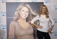 "<p>Former supermodel Christie Brinkley unveils her new advertisement for the National Milk Mustache ""got milk?"" Campaign at the 2009 Sundance Film Festival in Park City, Utah, January 16, 2009. REUTERS/Ramin Rahimian</p>"
