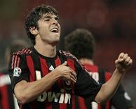<p>O Milan terá dificuldade para manter Kaká depois de o Manchester City ter oferecido mais de 100 milhões de euros (cerca de 133 milhões de dólares) pelo craque brasileiro, disse Silvio Berlusconi, dono do clube, neste sábado. REUTERS/Alessandro Garofalo</p>
