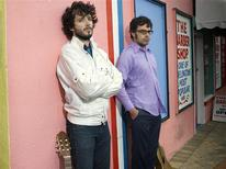 "<p>Jemaine Clement and Bret McKenzie (L) of the cult hit television show ""Flight of the Conchords"" in an undated photo. REUTERS/Handout</p>"
