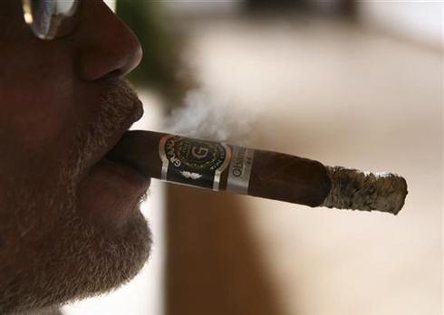 Smoking an Obama