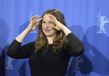 <p>Director Julie Delpy poses during a photocall to promote the movie 'The Countess' at the 59th Berlinale film festival in Berlin, February 9, 2009. REUTERS/Tobias Schwarz</p>