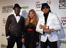 <p>Band members of The Black Eyed Peas, will.i.am (L), Fergie, and Taboo (R), arrive for the Black Eyed Peas Peapod Foundation Benefit Concert at the Conga Room at L.A. Live in Los Angeles, California, February 5, 2009. REUTERS/Jason Redmond</p>