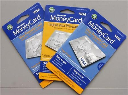 Reloadable Prepaid Cards >> Wal Mart Slashing Price On Its Prepaid Moneycard Reuters