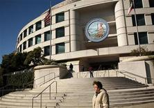 "<p>Governor Edmond G. ""Pat"" Brown's state office building is shown in San Francisco, California in this January 29, 2009 file photo. REUTERS/Robert Galbraith</p>"
