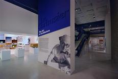 "<p>An undated handout photo shows the ""Le Corbusier: The Art of Architecture,"" exhibition at London's Barbican Art Gallery. REUTERS/Lyndon Douglas/Handout</p>"
