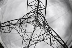 <p>Вид на опору ЛЭП в Мидлсбро 12 июня 2008 года. Узбекистан и Туркмения возобновили экспорт электроэнергии в Таджикистан, испытывающий этой зимой очередной энергокризис, сообщил пресс-секретарь таджикской госэнергокомпании Нозир Ёдгори. REUTERS/Nigel Roddis</p>
