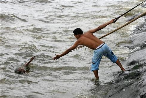 Daring rescues