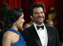 "<p>Indian actors Freida Pinto (L) and Anil Kapoor of the best picture nominated film ""Slumdog Millionaire,"" laugh together on the red carpet at the 81st Academy Awards in Hollywood, California February 22, 2009. REUTERS/Jason Reed</p>"