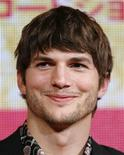 """<p>Actor Ashton Kutcher attends an event to promote his film """"What Happens In Vegas"""" in Tokyo in this August 6, 2008 file photo. REUTERS/Yuriko Nakao/Files</p>"""