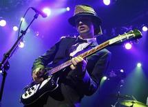 <p>Pete Doherty of the Babyshambles performs during the 42nd Montreux Jazz Festival in this file photo from July 15, 2008. REUTERS/Denis Balibouse</p>
