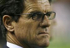 <p>Técnico da seleção inglesa, Fabio Capello, em foto de arquivo. Capello disse nesta sexta-feira que times ingleses são mais físicos que italianos. REUTERS/Javier Barbancho</p>