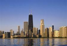 <p>The Chicago skyline in a file photo. REUTERS/File</p>