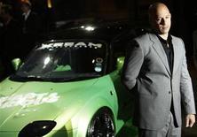 """<p>El actor Vin Diesel durante la presentación de la cinta """"Fast & Furious"""" en Leicester Square en Londres, 19 mar 2009. El filme de carreras """"Fast & Furious"""" llega el viernes a los cines estadounidenses con la estrella de acción Vin Diesel y su compañía de la película original de regreso a la pantalla para recargar su franquicia. REUTERS/Stefan Wermuth</p>"""