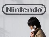 <p>Uno showroom di Nintendo a Tokyo. REUTERS/Toru Hanai</p>