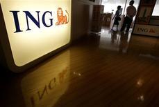 <p>Le groupe néerlandais de services financiers ING entend céder pour six à huit milliards d'euros d'actifs non stratégiques au cours des prochaines années, afin de réduire son exposition au risque et de se recentrer sur l'Europe, l'assurance vie et l'épargne retraite. /Photo d'archives/REUTERS/Pichi Chuang</p>