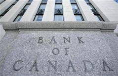 <p>The Bank of Canada building is pictured in Ottawa March 3, 2009. REUTERS/Chris Wattie</p>
