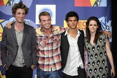 <p>Il cast del film Twilight. REUTERS/Phil McCarten (UNITED STATES)</p>