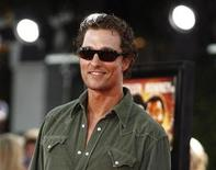 <p>Cast member Matthew McConaughey poses at the Mann's Village theatre in Westwood, California August 11, 2008. REUTERS/Mario Anzuoni</p>