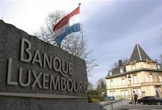 <p>The headquarters of the Bank of Luxembourg is seen in central Luxembourg, March 17, 2009. Picture taken March 17, 2009. REUTERS/Francois Lenoir</p>