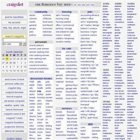Craigslist Faces Prostitution Controversy In Ny Reuters Com