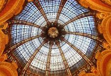 <p>The ceiling at the Galeries Lafayette in Paris. REUTERS/VirtualTourist.com member Marietje2</p>