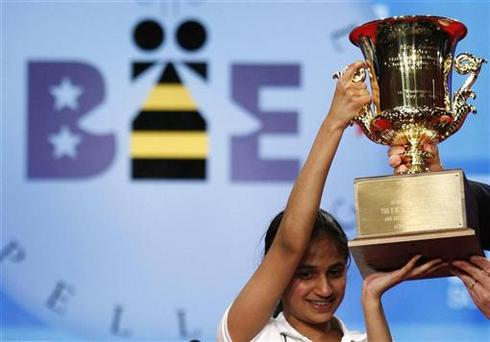 Spelling bee buzz