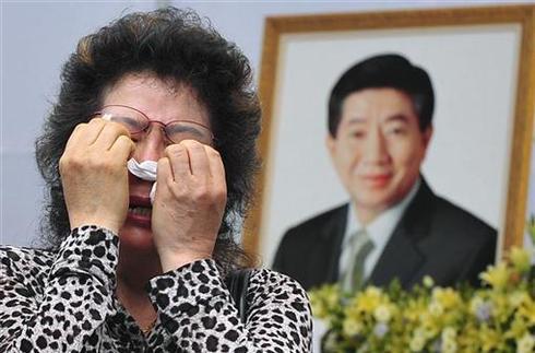 Mourning Roh Moo-hyun