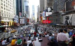 <p>New York offre podcast su location di celebri film e show tv. REUTERS/Chip East</p>