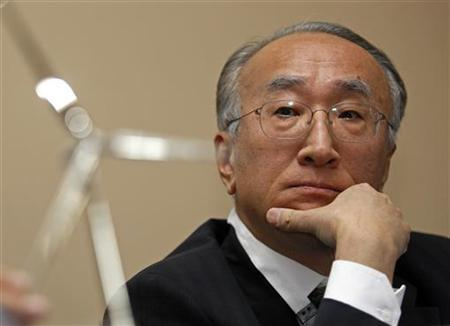 Nobuo Tanaka, Executive Director of International Energy Agency (IEA), attends a news conference during the Europe's Premier Wind Energy Event (EWEC) in Marseille March 16, 2009. REUTERS/Jean-Paul Pelissier