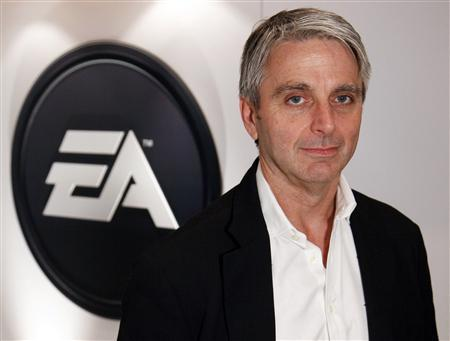 John Riccitiello, Chief Executive Officer of Electronic Arts, poses for a portrait during the Electronic Entertainment Expo or E3 in Los Angeles, June 3, 2009. REUTERS/Danny Moloshok