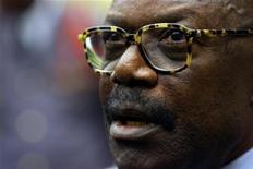 <p>A file photo shows Gabonese President Omar Bongo. REUTERS/FILE</p>