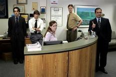 "<p>The cast of NBC's ""The Office"" in a photo courtesy of the network. REUTERS/NBC/Handout</p>"