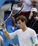<p>Britânico Andy Murray na semifinal do torneio de Queen's Club em Londres. 12/06/2009. REUTERS/Stefan Wermuth</p>