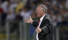 <p>Alex Ferguson, técnico do Manchester United, em Roma. 27/05/2007. REUTERS/Darren Staples</p>