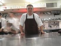 <p>Chef Homaro Cantu is seen in this undated handout photo. REUTERS/Moto Restaurant/Handout</p>