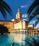 "<p>The Biltmore Hotel, Coral Gables, Florida: During the Prohibition in the 1920s, Al Capone ran a speakeasy out of the Biltmore Hotel while camped out in the 13th-floor Everglades suite. The Al Capone Suite was where hit-man Thomas ""Fats"" Walsh was fatally shot in 1929. REUTERS/Handout</p>"