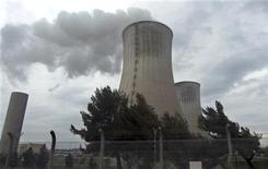 <p>Foto de archivo de la planta nuclear Tricastin en Francia, 6 mar 2009. Una planta nuclear de juguete construida por dos niños de seis años desató una alerta pública en Alemania, sólo para que después las autoridades descubrieran que la posible amenaza a la seguridad era la carcaza de una computadora con un símbolo de radiación pegado a ella. REUTERS/ Muriel Boselli</p>