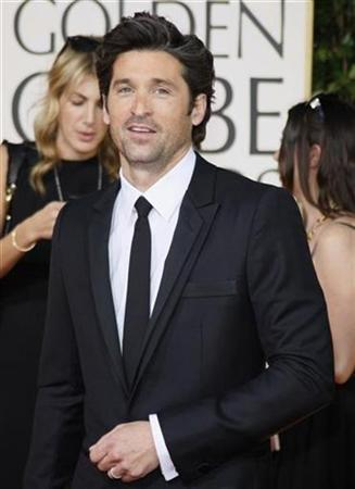 Actor Patrick Dempsey arrives at the 66th annual Golden Globe awards in Beverly Hills, California January 11, 2009. REUTERS/Lucy Nicholson