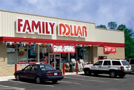 A Family Dollar store is seen in this undated handout photo. REUTERS/Family Dollar/Handout