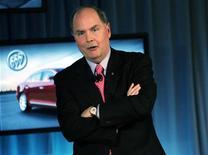 <p>L'ad di General Motors Fritz Henderson. REUTERS/Rebecca Cook</p>