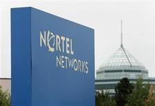 <p>A sign is pictured outside Nortel's Carling Campus in Ottawa July 24, 2009. REUTERS/Chris Wattie</p>