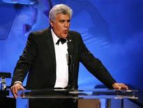 <p>Jay Leno hosts the 30th Carousel of Hope gala in Beverly Hills, California October 25, 2008. REUTERS/Mario Anzuoni</p>